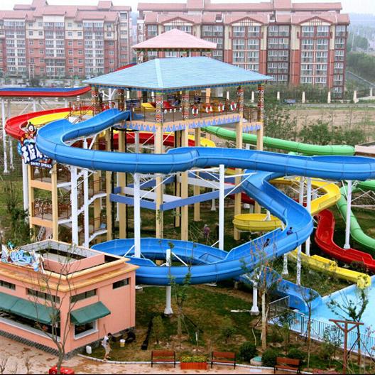 Wenwen Spiral water slide Spiral water slide image2