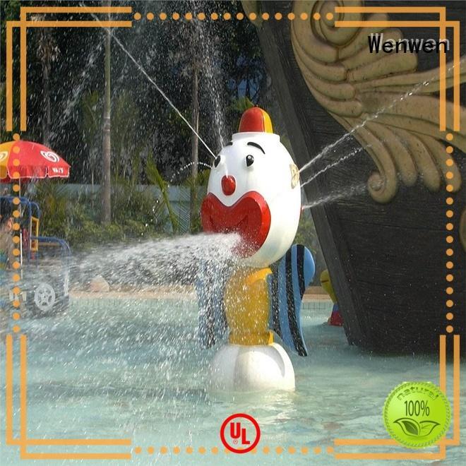 Wenwen mushroom splash pad galvanized wholesale
