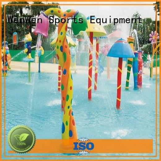 Wenwen splash pad steel for sale