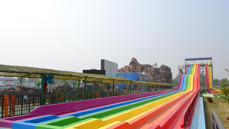 Rainbow Racing Slide