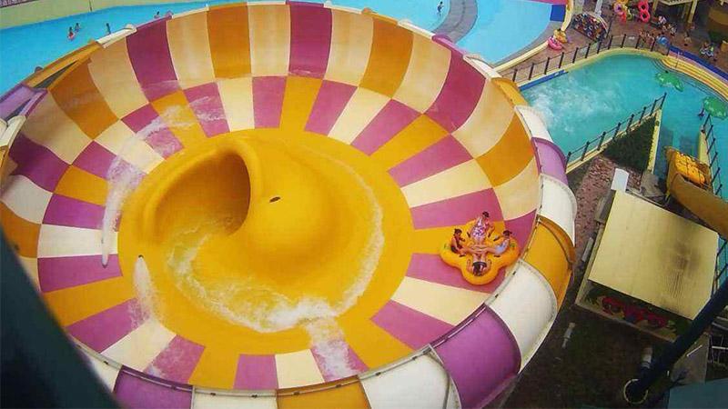 Super Bowl Water Slide
