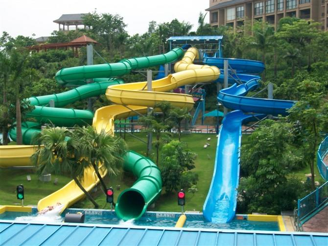 park adult outside water slides Wenwen manufacture