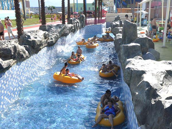 Hot lazy river playground Wenwen Brand