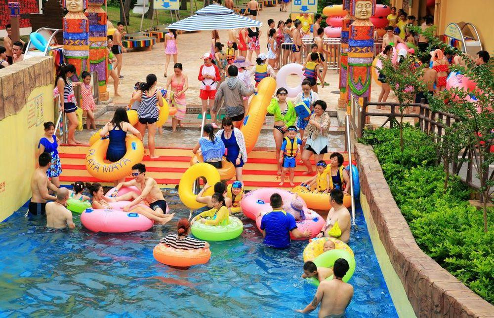 lazy river water park swimming pool equipment Wenwen Brand company