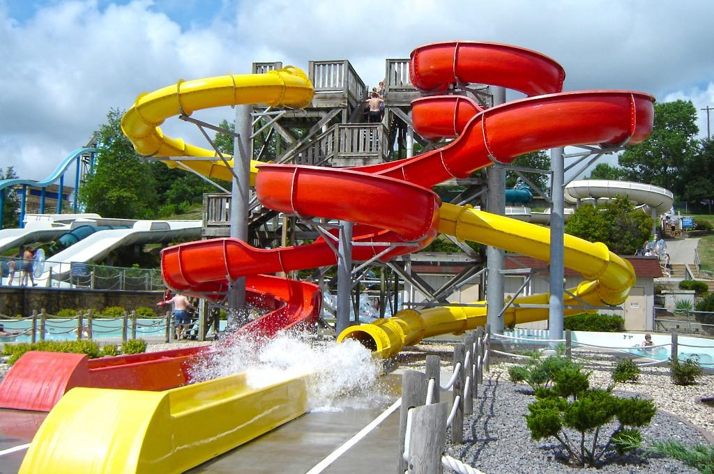 slides park water slide race commercial Wenwen Brand company