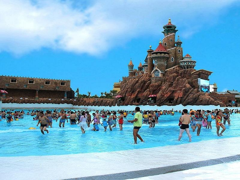 Wave Pool Construction Artificial Vacuum Wave Machine Equipment For Water Park