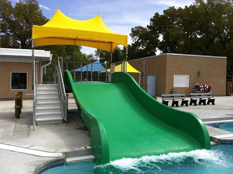 Fiberglass Kid Water Park Swimming Pool Water Slides Equipment Family Width Slide