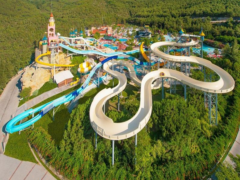 Water Theme Park Family Raft Fiberglass Water Slide Used Swimming Pool Slide