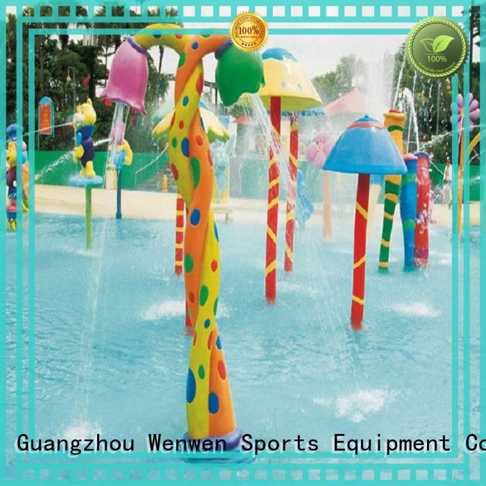 Wenwen colorful splash pad park carbon online