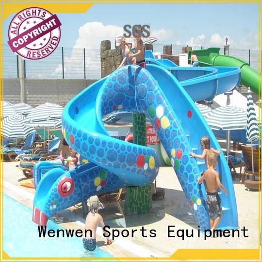 elephant kids water slide pool