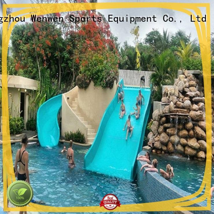 high quality cool water slides fast delivery for water park Wenwen