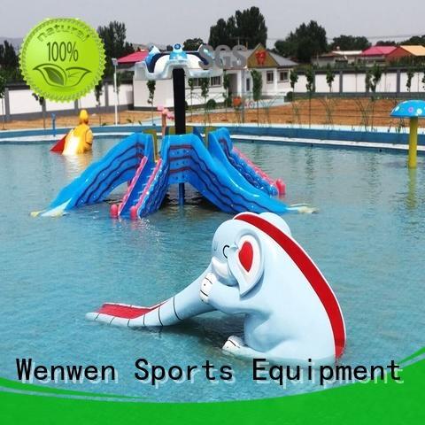 Wenwen spray kids water slide equipment for theme park