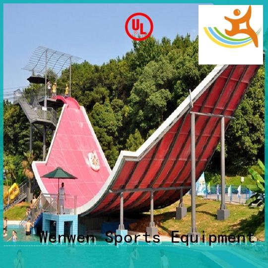 fiberglass slide commercial swimming pool for adult Wenwen