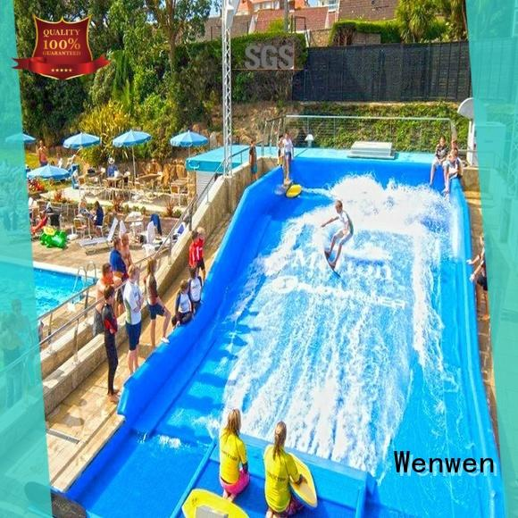 Wenwen commercial fun water slides manufacturer for adults