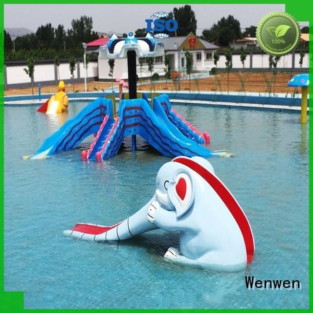 Wenwen top kids water slide manufacturers for sale