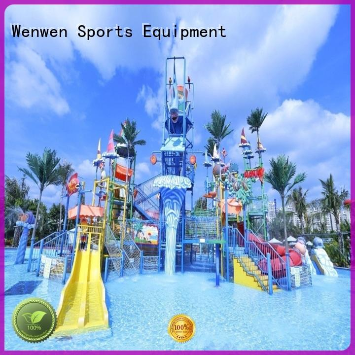 huge water parks colorful for hotel Wenwen