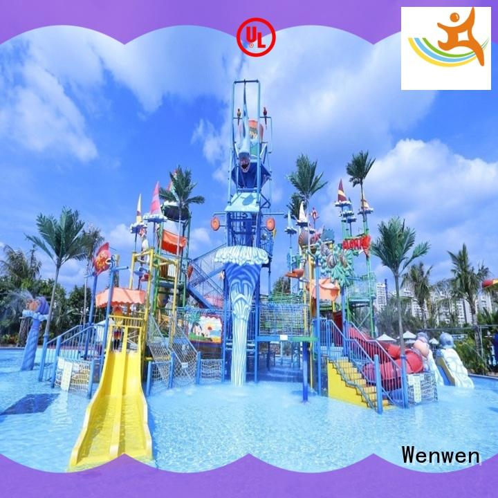 hot sale huge water parks fiberglass for water park