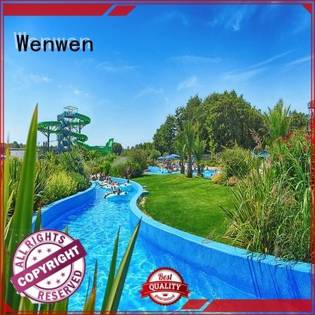 high quality longest lazy river customized for amusement park Wenwen