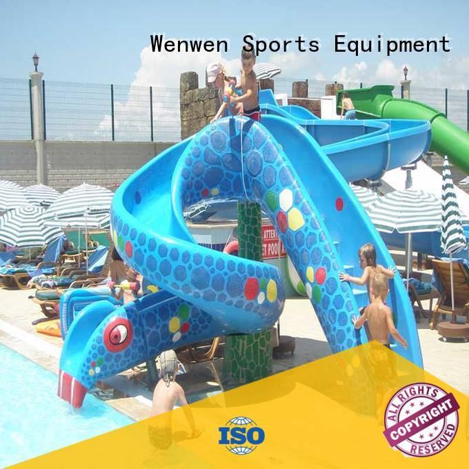 Wenwen animals water slides for kids for sale