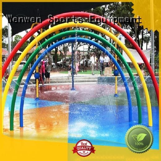 Wenwen splash pad factory for water park