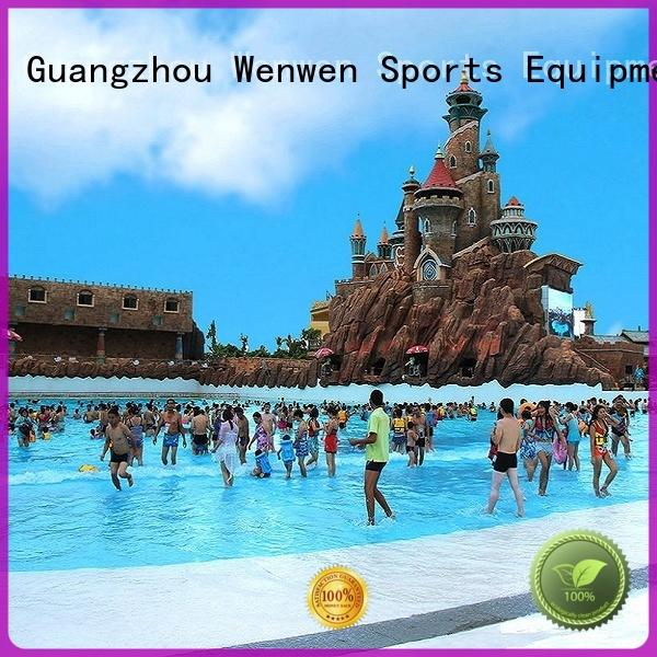 Wenwen best wave pool wave machine equipment for resort