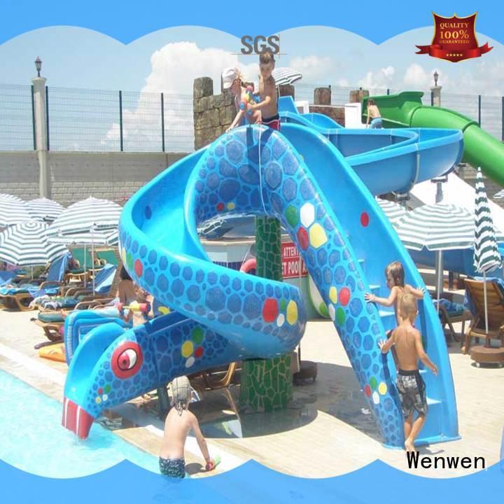 Wenwen splash best kids water slide material for water park