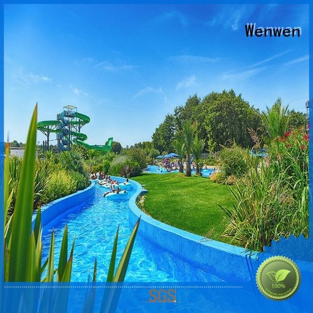 Wenwen design lazy river swimming pool for sale