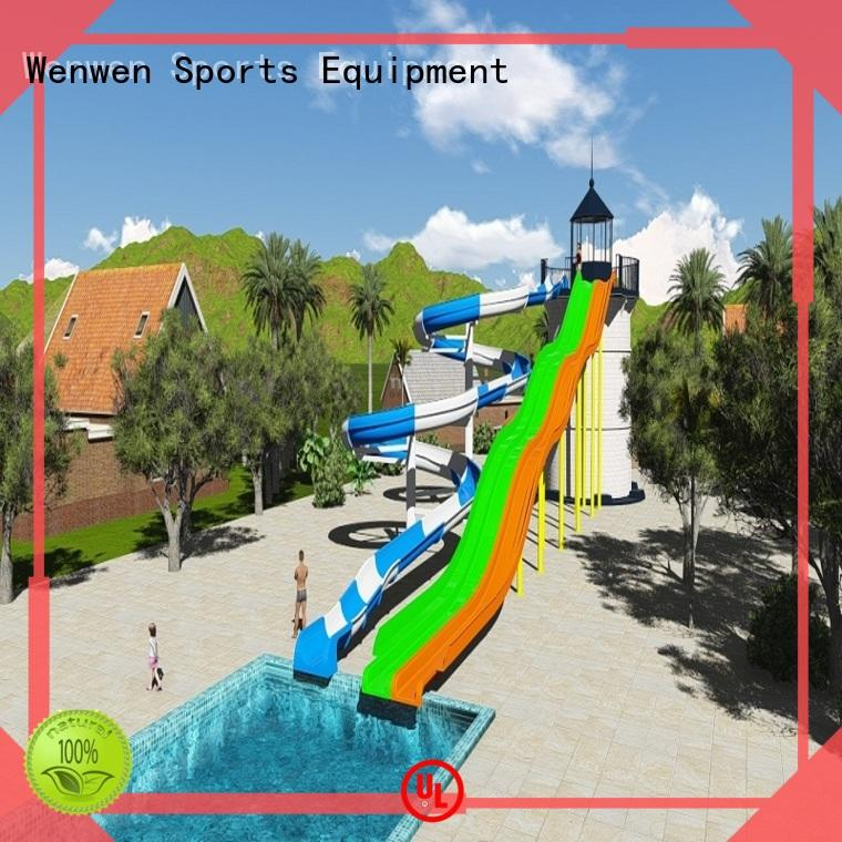 new water slide race spiral for water theme park