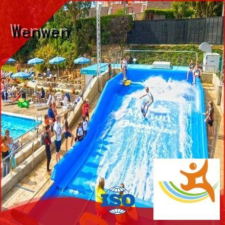 fiberglass fun water slides supplier for water park