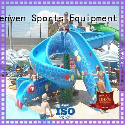 swimming kids water slide equipment for sale