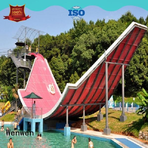 Wenwen customized giant water slide water sport for amusement park