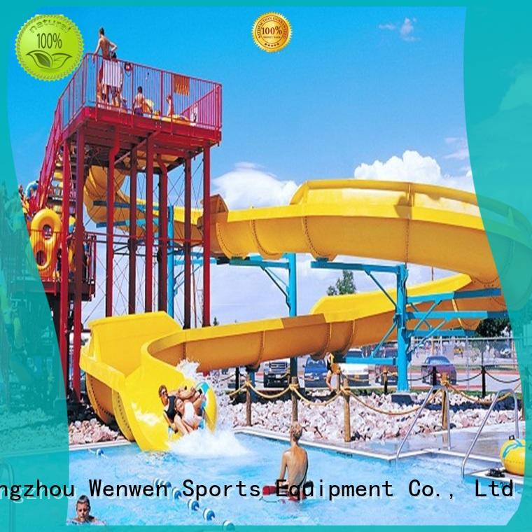 funny huge water slide aqua playground for amusement park Wenwen