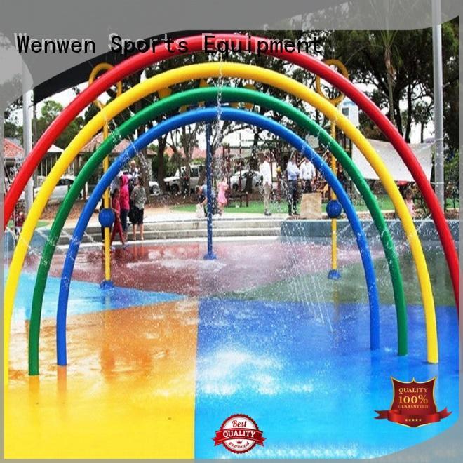 Wenwen kids splash park steel online