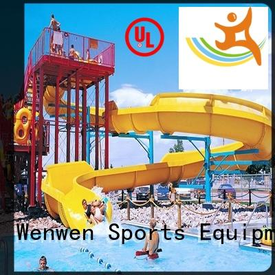 Wenwen tall water slides commercial for amusement park