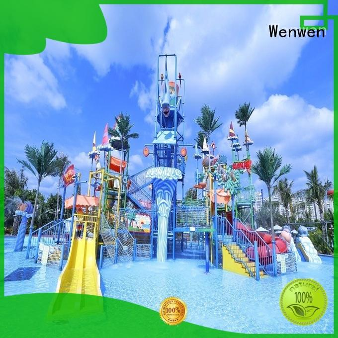 Wenwen aquatic biggest water park ever for theme park