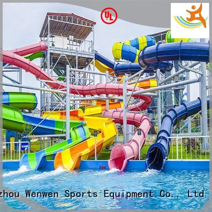 outside water slides adult Wenwen Brand water slide ride