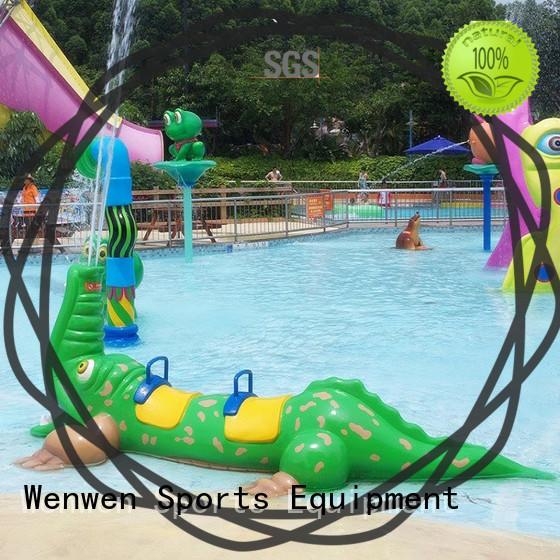 Wenwen splash pad steel online