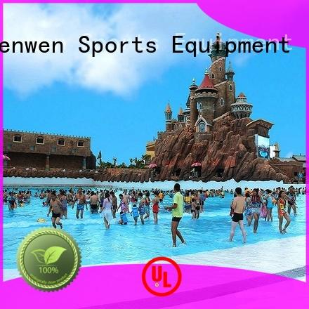 Wenwen vacuum the wave pool online for hotel