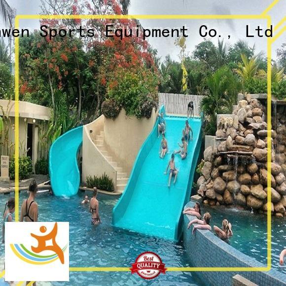 Wenwen family tall water slides equipment for amusement park