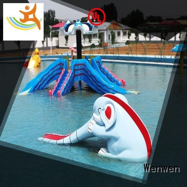 Wenwen snake kids water slide pool for theme park