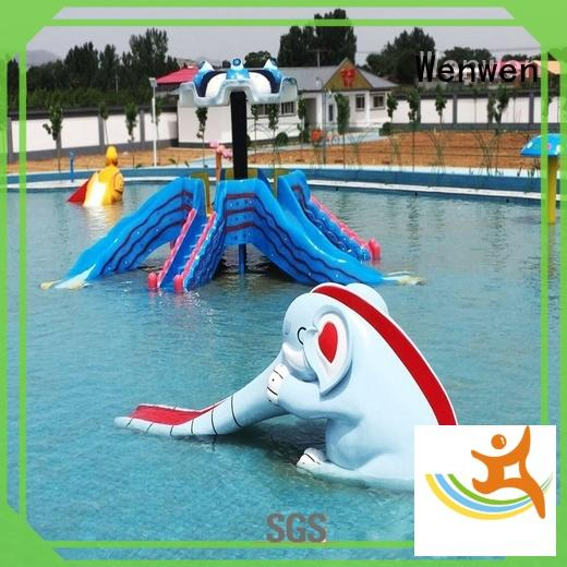 Wenwen swimming kids water slide material for sale