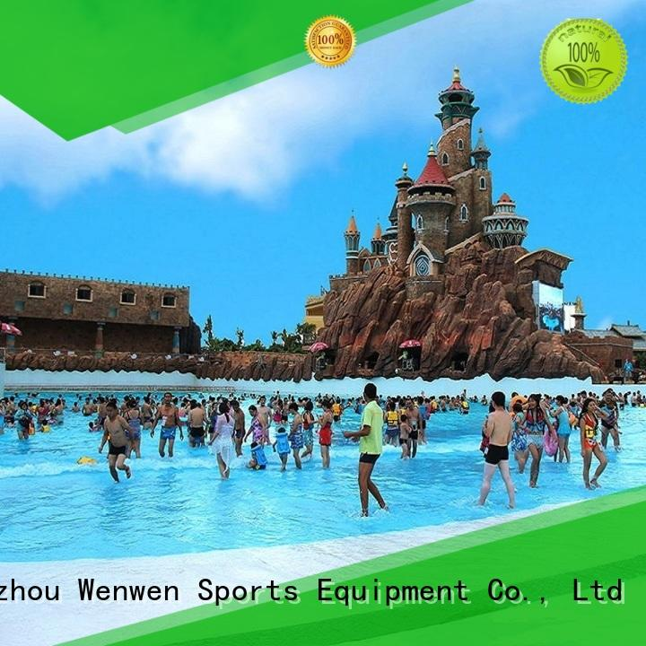 Wenwen the wave pool commercial swimming pool wholesale