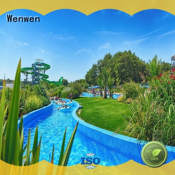 the lazy river for amusement park Wenwen
