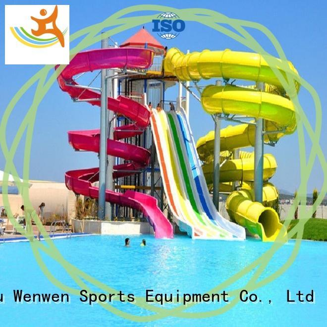 planning buy water slide adult for resort