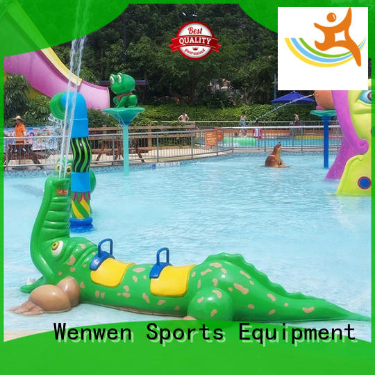 Wenwen Brand flowing water splash pad manufacture