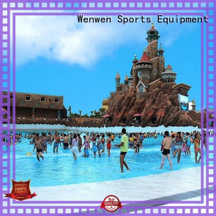 Wenwen construction wave pool dubai for water park