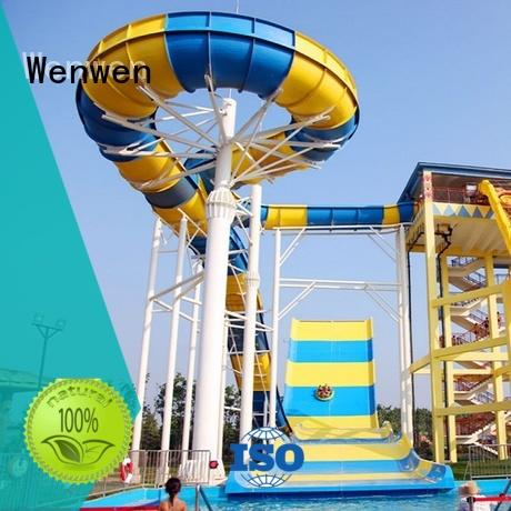 giant fiberglass swimming pool slide material for resorts