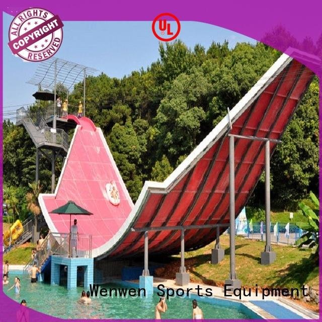 colorful giant water slide water sport for hotel