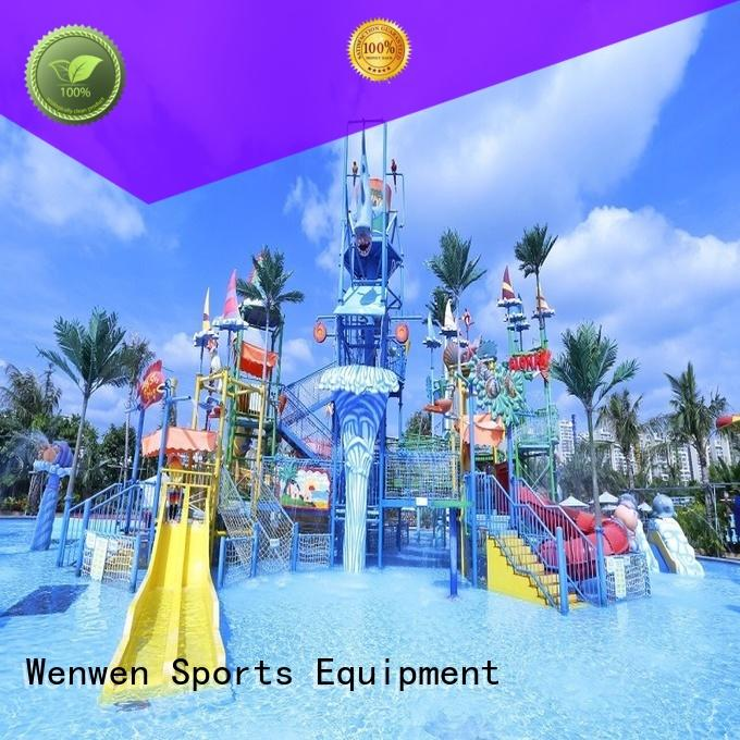 huge water playground supplier for resort Wenwen