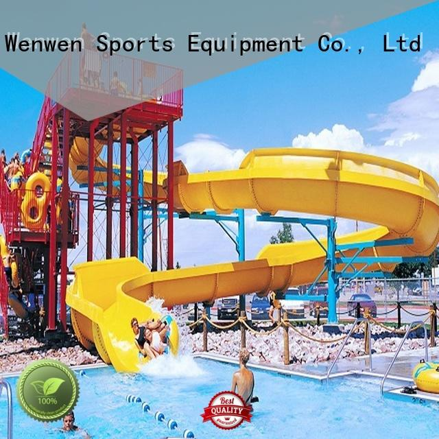Wenwen interesting biggest water slide for water park